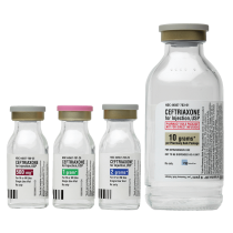 Ceftriaxone for Injection, USP